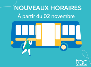 TAC adapte ses horaires